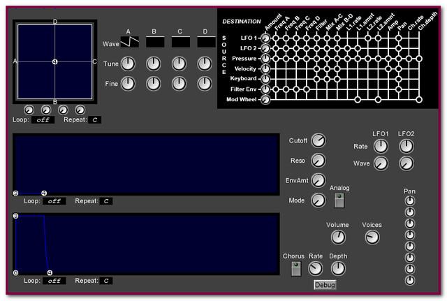 The RedFaux Transmission: VST Instruments