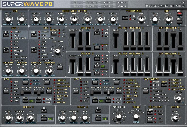 The RedFaux Transmission: VST Instruments